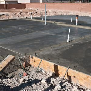 New Construction Slab
